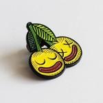 Cherrysh pin (Yellow) by Creamlab