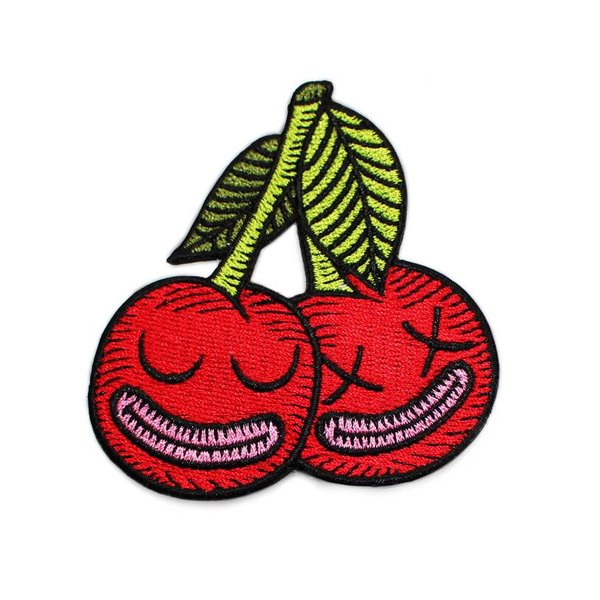 Cherrysh Embroidered patch by Creamlab