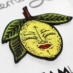 Lemony Embroidered patch by Creamlab