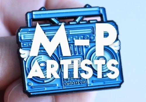 Artists M - P