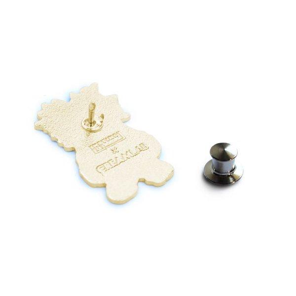INC. pin (White & Gold) by Instinctoy