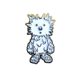 INC. pin (White & Gold) by Instinctoy