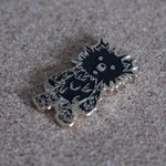 INC. pin (Black & Gold) by Instinctoy