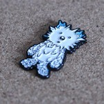 INC. pin (White & Blue ) by Instinctoy