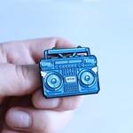 BMBOX pin (Blue) by Elena Kazi