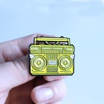 BMBOX pin (Yellow) by Elena Kazi