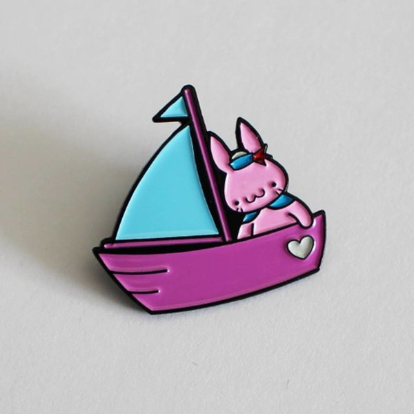 Sailor Bun pin (Blue & Pink) by Haus of Boz