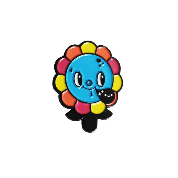 Megalopolitan Bloom pin (Original) by Squink