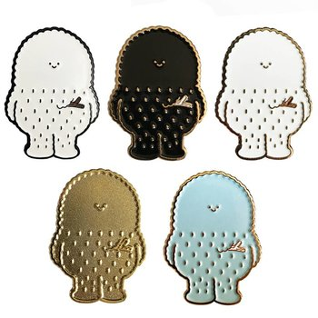 Treeson pin set (5 pieces) by Bubi Au Yeung