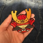 Kid Katana Embroidered patch by 2Petalrose