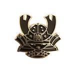 Kid Katana pin (Black & Gold) by 2Petalrose