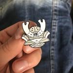 Kid Katana pin set (4 Pieces) by 2Petalrose