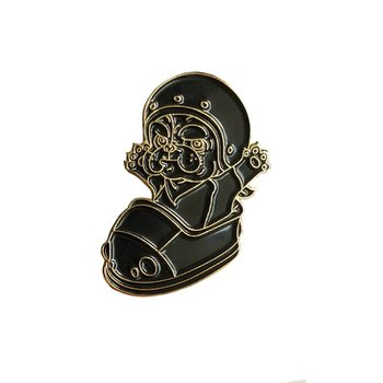 Mitt Pin (Black & Gold) by Six TwentyEight (628)