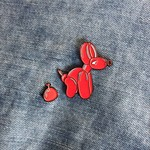 POPek Pin (Red) by Whatshisname