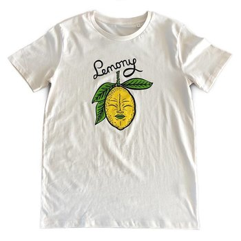Lemony (Vintage White) T-shirt by Creamlab