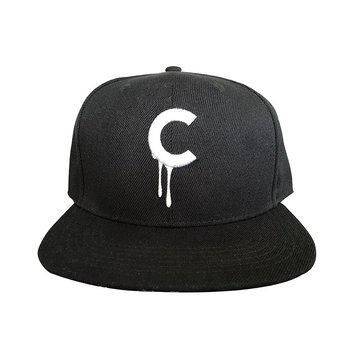 C-drip Snapback (Black & White) by Creamlab