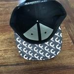 3D CREAM Snapback (Black Brim) by Creamlab