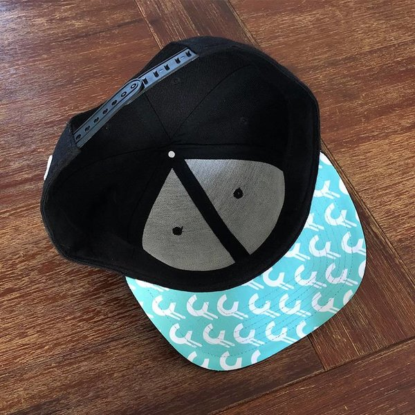 3D CREAM Snapback (Mint Brim) by Creamlab