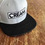 CREAM Snapback (Grey & Black) by Creamlab