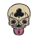 Calavera (Vanilla) Embroidered patch by Creamlab