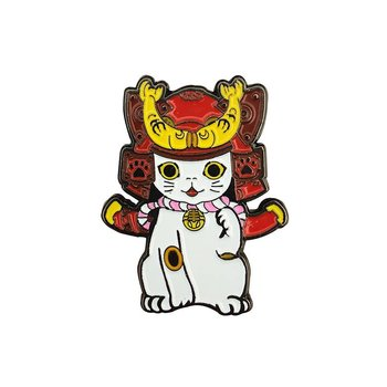 Ohonneko Pin (Red) by K2TOY