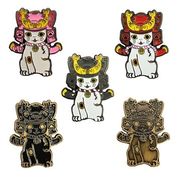 Ohonneko Pin set (5 Pieces) by K2TOY