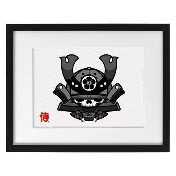 Skull Kid Katana Print (A3) by 2PetalRose