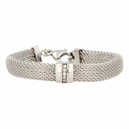 Bless My Bendel - Armband - Zirkonia - BL1001 - Zilver - 10 mm