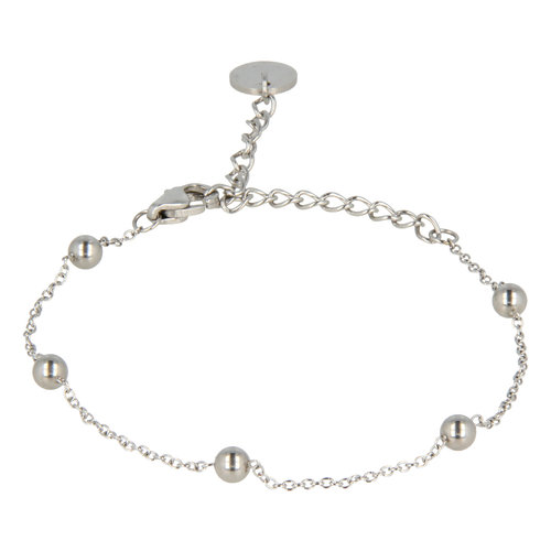Godina My Bendel Silber Perlen Armband