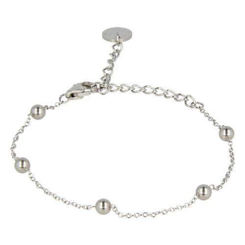 Godina My Bendel silver bead bracelet