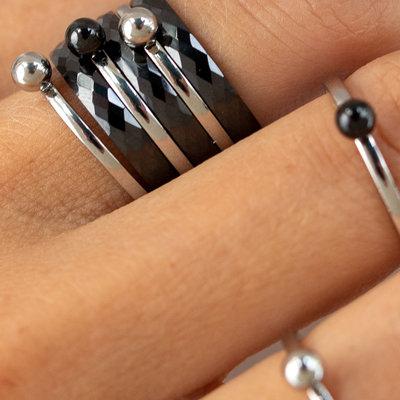 Keramieken ringen