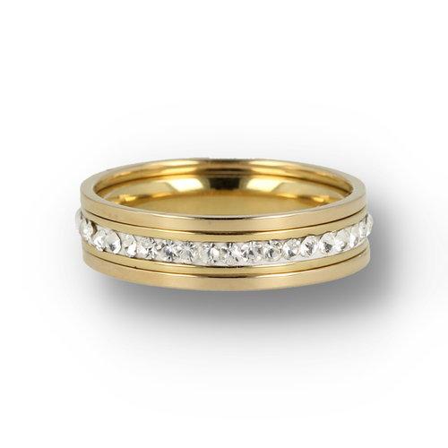 Picolo My Bendel - Ring set - Gold - Zirconia
