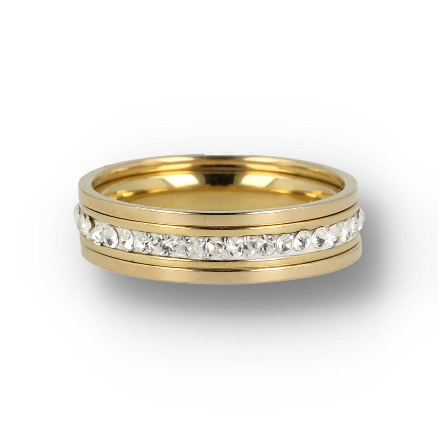 Picolo Ring set zirconia stones