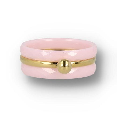 Picolo My Bendel - Ring set - Pink