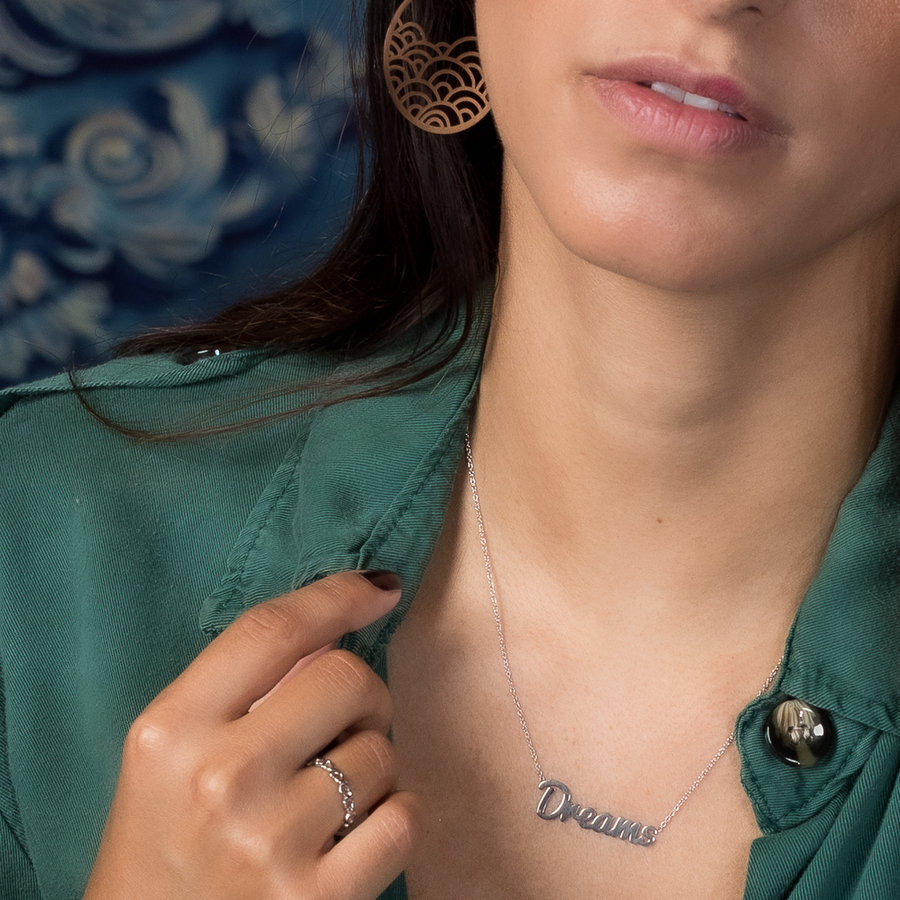 Picolo My Bendel - Dreams Necklace - Silver - does not discolour.