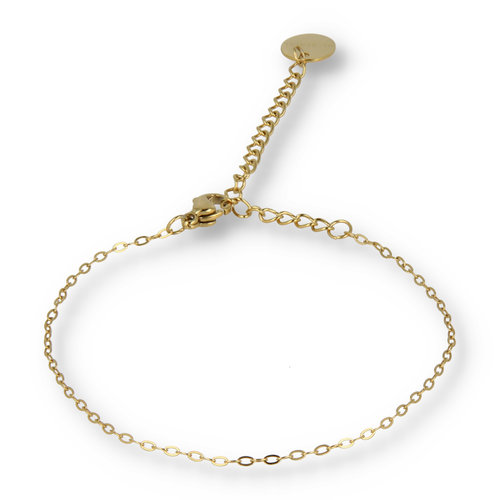 Picolo My Bendel - fine gold bracelet with oval links
