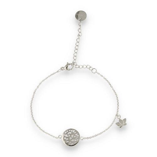 Picolo PO2318 - Silber Charm Armband Baum des Lebens