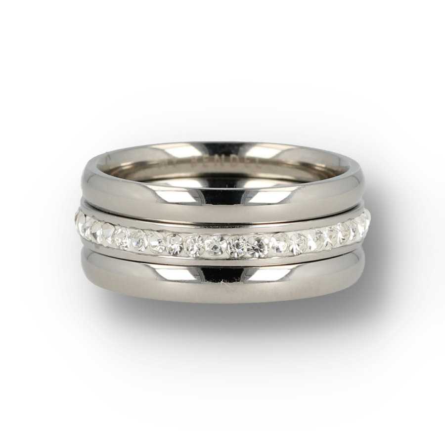 Picolo Stylish ring sets with zirconia ring