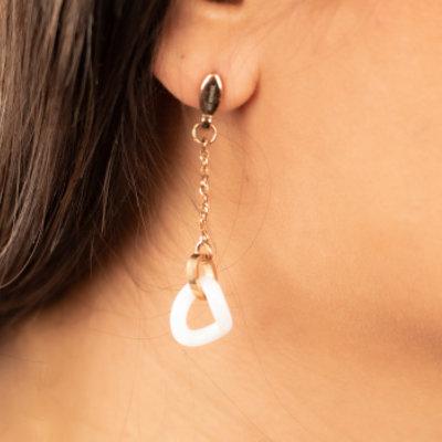 Keramieken oorbellen