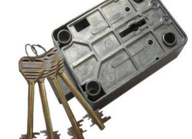 Sleutelslot voor wapenkluis