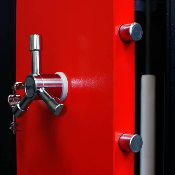 Luxe hendel S713-III voor op uw wapenkluis