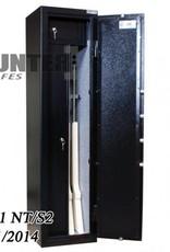 Wapenkluis 1001 NT/S-2 voor 4 geweren