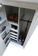 Wapenkluis 1754/S1 voor 5 geweren en munitie, inbouw wapenkluis