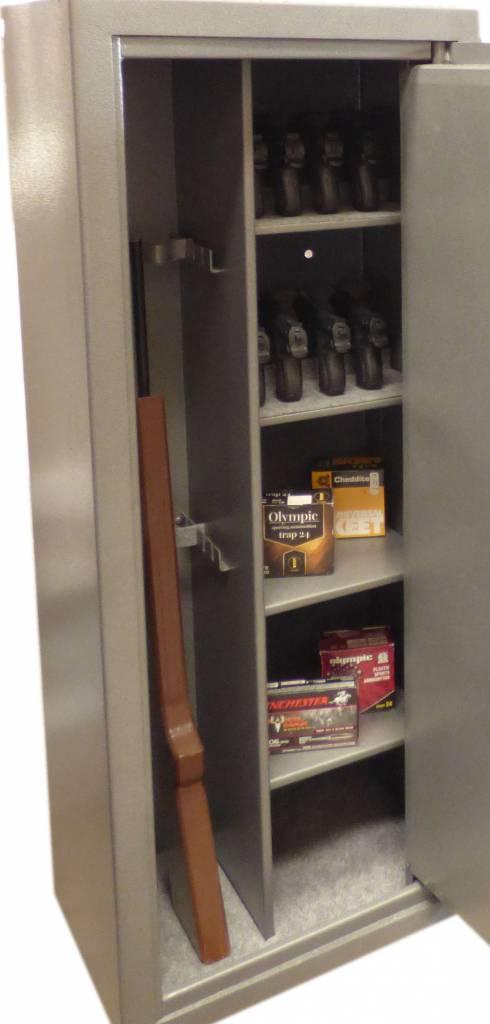 Wapenkluis F60P 4PU voor 4 geweren en 25 pistolen