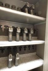 Wapenkluis munitiekluis F60 4P met verstelbare legplanken voor pistolen, munitie of kostbaarheden