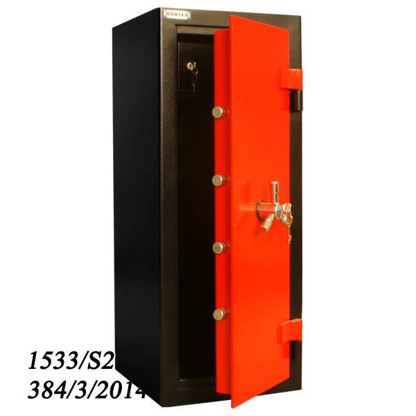 EU- Wapenkluis 1533/S-2 met slot elektronisch