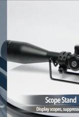 Display steun richtkijker-mes-geluidsdemper