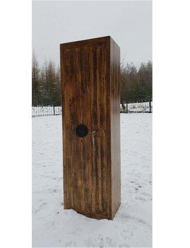 Wapenkluis 1624 met hout look