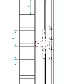1798 DK deur met vakjes