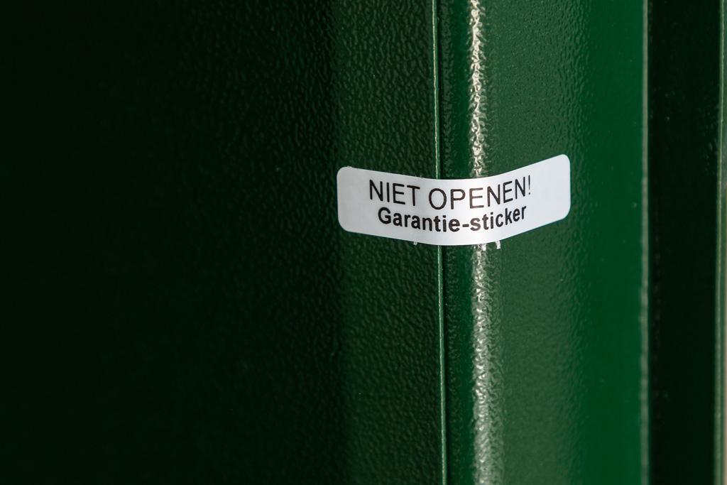 Wapenkluis in de kleur groen